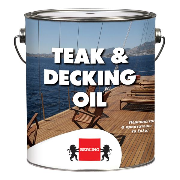 TEAK & DECKING OIL 0,75Lt BERLING