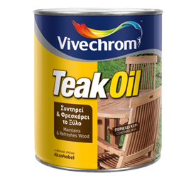 TEAK OIL 750ML VIVECHROM