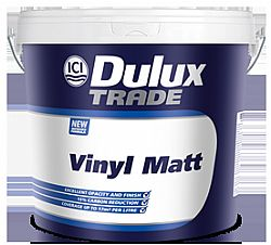 DULUX TRADE VINYL MATT 9LT