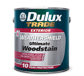 DULUX TRADE WEATHERSHIELD ULTIMATE WOODSTAIN 1LT