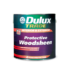 DULUX TRADE PROTECTIVE WOODSHEEN 1LT