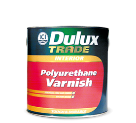 DULUX TRADE POLYURETHANE VARNISH 1LT