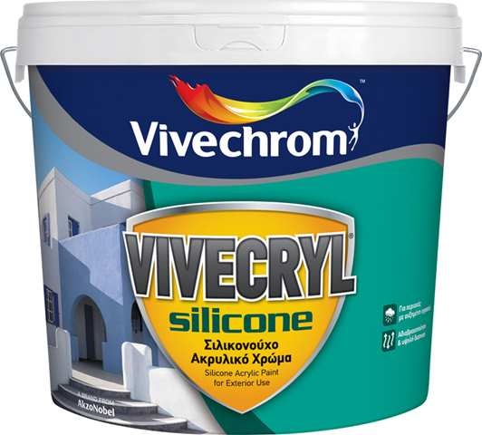 VIVECRYL SILICONE 10Lt VIVECHROM